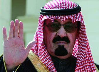 沙特国王阿卜杜拉逝世