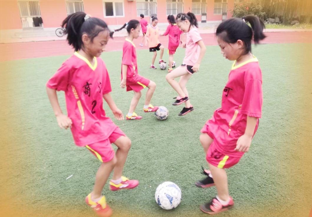 一座乡镇小学的足球探索