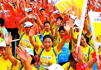 山东城市定向挑战系列赛滨州站开跑