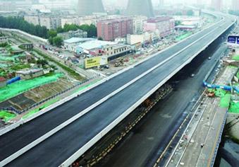 济南工业北路高架路有望11月通车