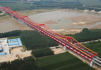 新桥!长清黄河公路大桥完工验收