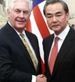 """王毅重申反对在韩部署""""萨德"""""""