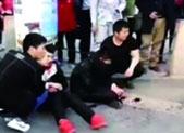 济南一饭馆两服务员被持刀男子砍伤