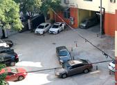 七里堡居委会门前私设停车位出租?
