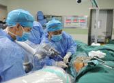 机器人做骨科手术,山东首例