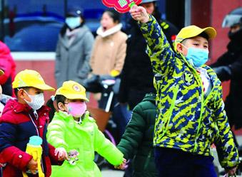 济南今天7级大风,最低温-5℃