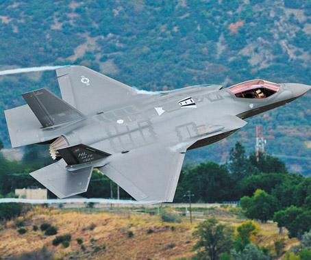 f-35战斗机是美国与盟国合作研制的第五代作战飞机