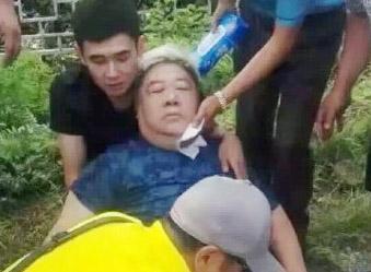 演员李琦、刘金山在北京遇车祸
