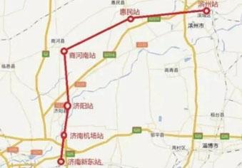 济滨城际铁路预计今年开工