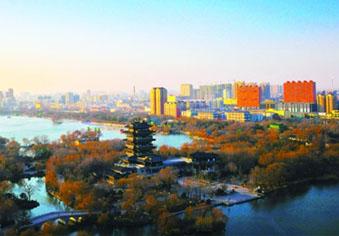 济南北部最低温降至-13℃