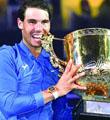 纳达尔时隔12年再夺中网男单冠军
