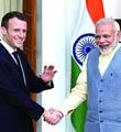 法国总统马克龙首访印度布局亚洲