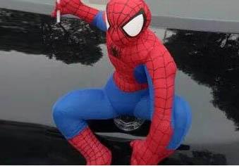 """车顶挂""""蜘蛛侠""""拉风还是隐患?"""