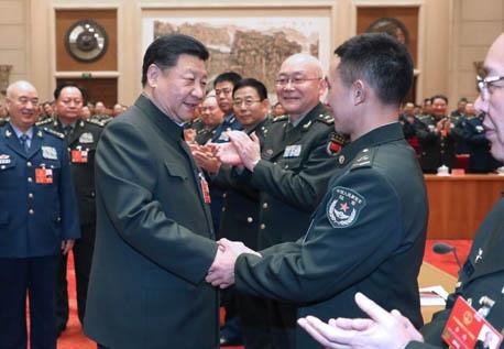 牢记统帅殷切嘱托 建设世界一流军队