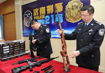 网上买枪牵出特大网络制贩枪案