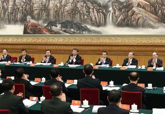 十九大主席团举行第二次会议