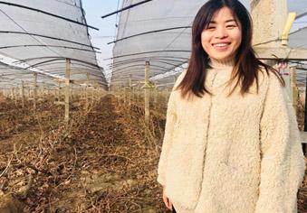 女硕士种葡萄串起乡村合作社
