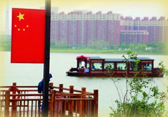 济南华山湖游船正式通航
