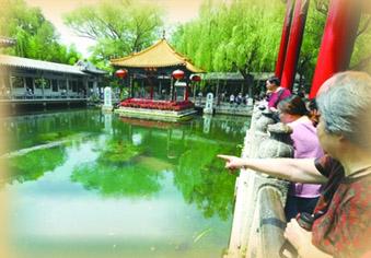 记者实地探访济南老城区众泉