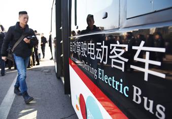 无人驾驶公交车将在BRT上开跑