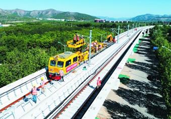 R1线首列车本月中旬抵济