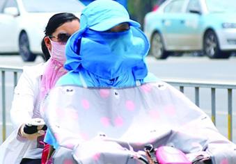 济南发布今年首个高温橙色预警