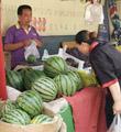 济南西瓜价格较往年高了近四成