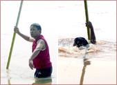 黄河阻泳的阻力