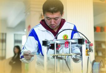 高中生3个月组装了一台3D打印机