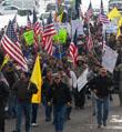 持枪占楼,美国牛仔武装抗议