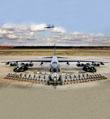 """美B-52轰炸机朝鲜半岛""""秀肌肉"""""""