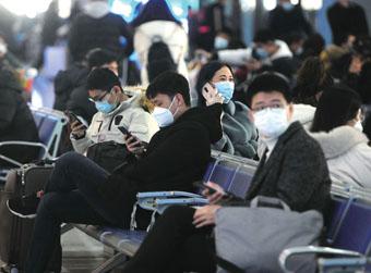 春运首日济南发送旅客同比减少七成