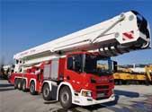 全球最高101米登高平台消防车入列