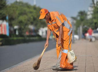 街道整洁精确到每一块砖