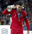 "C罗国家队第二冠请叫他""欧洲之王"""