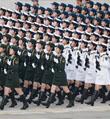女兵方队领队将军是咱济南人