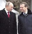 梅德韦杰夫率领俄政府全体辞职