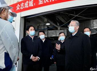 刘家义在济南调研企业复工复产工作时强调 统筹做好疫情防控和经济社会发展