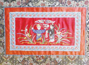 绣品中的戏曲文化