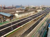 R3线工业北路站主体结构封顶