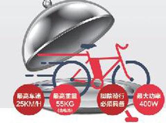 电动车强制性指标公示