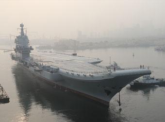 """国产航母海试""""双航母""""时代即将来临"""
