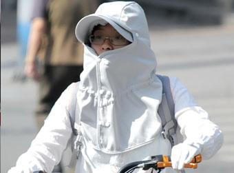 济南下周最高温约36℃