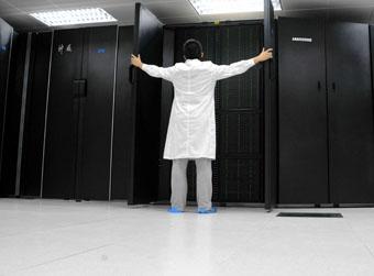 神威E级超算原型机在济南正式启用