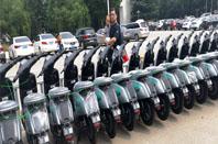 共享电动车进校园