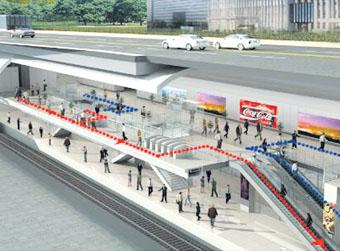 """地铁R3线5个车站""""亮相"""""""