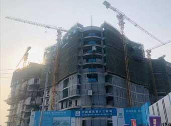 质子中心综合楼11月初封顶
