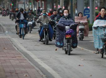 今明两天济南最低温仅3℃