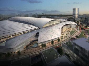 济南新东站将设摆渡火车到机场