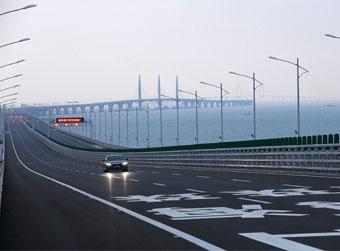 """""""超级工程""""港珠澳大桥正式开通"""